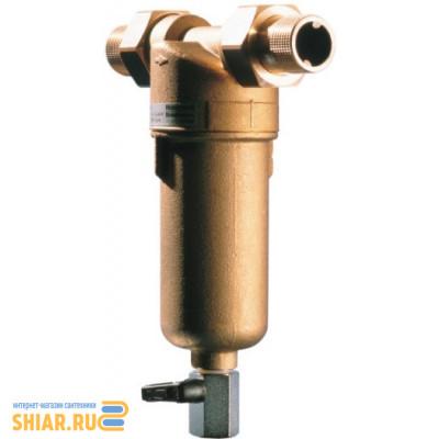 """DE-HW Фильтр промывной мех очистки HW FF 06-1""""AAM (100мк) 70 С"""