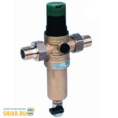 """DE-HW Фильтр промывной мех очистки FK 06-3/4""""AAМ с ред.давления (70 С)"""